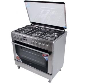 Geepas 90*60/5 Burn Cooking Range/Grill/Sfty/Rot1x1 GCR9051