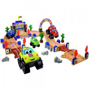 Ecoiffier Abrick Big Foot Circuit Play Car Toy Set