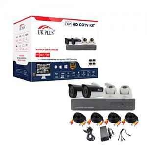 UK Plus UK-2004FHD 2.0 MPFull HD 4 Camera Kit