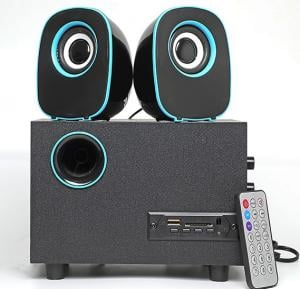 2.1 Multimedia USB/FM Radio Speaker, FT-H33U