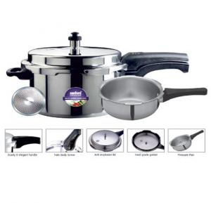 Sanford SF3272PCCIB-5.0L Pressure Cooker And Pan WIth Induction Base