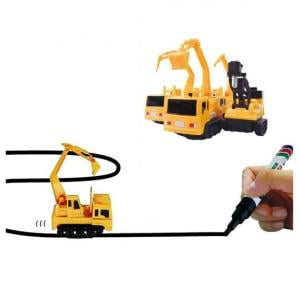 Inductive Follow the Line Truck Toy
