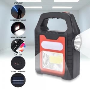 Multifunctional Portable Solar Lamp YD878