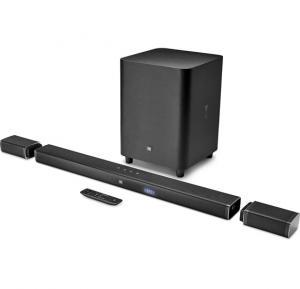 JBL 5.1 Channel Soundbar Wireless Bluetooth Speaker Black,BAR5.1