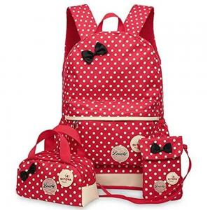 Red Backpack for Women