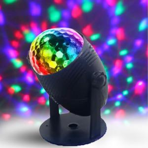 Mini Stage Led Party Stand Flashing Light, Black