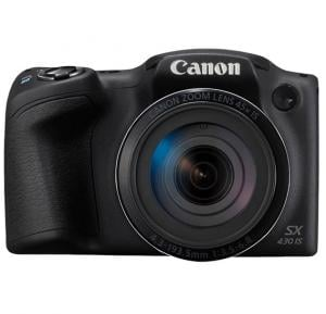 Canon PowerShot SX430 IS Mini DSLR Camera , Black