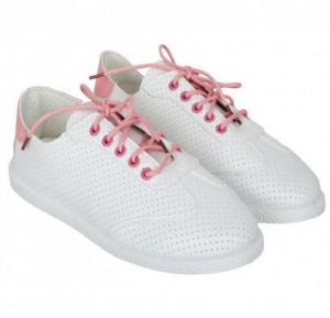 Classic Canvas Shoe Sneakers Pro Dots Skate Shoe -35, White