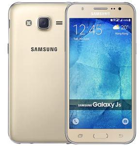 Samsung Galaxy J5 J500F 4G Smartphone, 5.0 Inch Display, 1.5GB RAM, 8GB Storage, Dual Camera, Wifi, Android OS - Gold