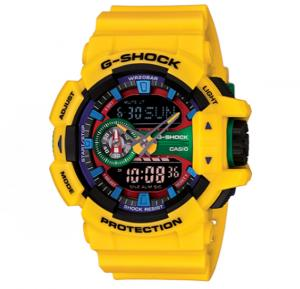 Casio G-shock Digital Analog Watch, GA-400-9ADR