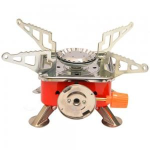 Camping Use Gas-Powered Portable Card Type Stove, K-202