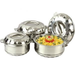 Stainless Steel Hotpot 3 Pcs, Dessini
