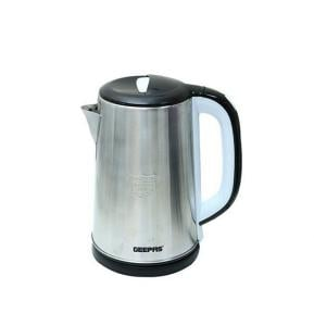 Geepas Stainless Steel Auto Cut Off Electric Kettle, 2.5 L, GK38028