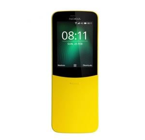 Nokia 8110 Smartphone LTE,2.45-inch Screen, Yellow
