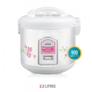Sanford Rice Cooker 2.2 Litre-Sf2506rc-2.2l Bs