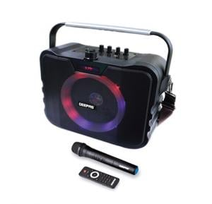Geepas Portable & Rechargeable Speaker System-GMS8547
