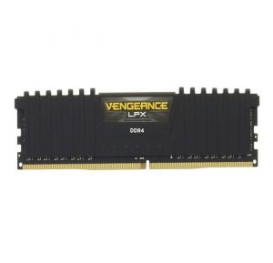 8GB(1*8GB) DDR4 2400mhz CL16  Vengeance LPX Red Heat Spreader 1.20V XMP 2.0, Black - CMK8GX4M1A2400C16R