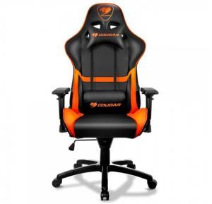 Cougar Armor Gaming Chair, Black And Orange, 3MGC1NXB.0001