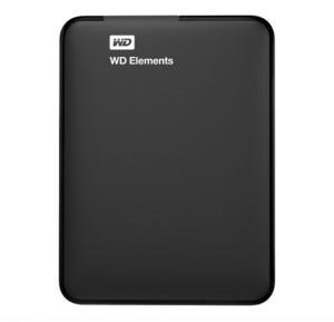 WD 1TB Elements Portable HDD, WDBUZG0010BBK-WESN