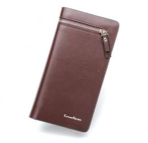 Card & ID Cases long leather For Men Brown Color