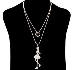 Fashion Jewelry girl beauty Necklace NO.FJ-413