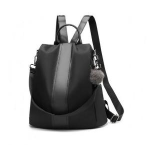 Korean Style Women Back Pack  WB19-02 - Black