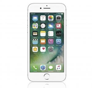 Apple iPhone 7 Smartphone, iOS10, 4.7 Inch Retina HD Display, 2GB RAM, 128GB Storage, Dual Camera - Silver