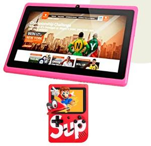 2 in 1 Bundle of HZ 8 Gb Android 7 inch Wifi HD Smart Tab with Supreme 400 Games