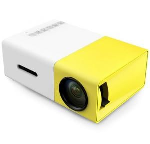 HD Mini Compact & Lightweight  LED Projector YG300