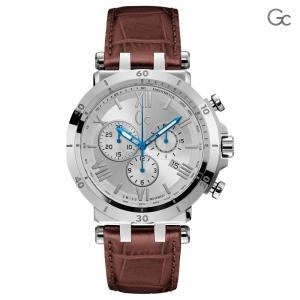 GC Mens Leather Chronograph Watch, Y44001G1