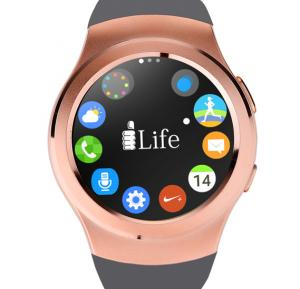 i-Life ZED Watch R 33MM Sport Band Bluetooth Smartwatch - Gold