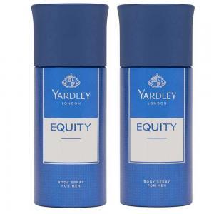 Yardley Equity Body Spray For Men 150ml, Pack of 2