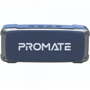 Promate Bluetooth Speaker with Mic, 6W HD Sound, 3H Playtime, FM, AUX, USB Port, SD Card Slot, OutBeat, Blue
