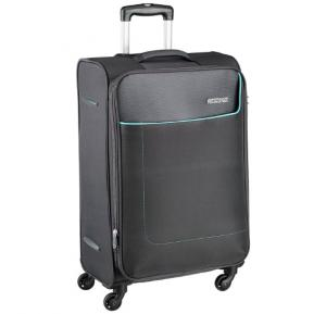 American Tourister 66CM Grey Jamaica Softsided Carry On - 27O008002