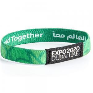 Expo 2020 Dubai Sustainability Wristband Green