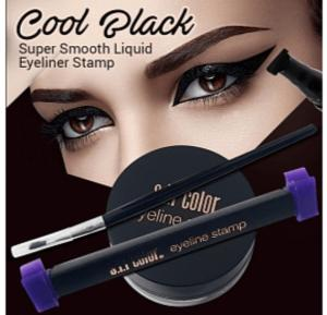 S.F.R. Color Super Smooth Liquid Eyeliner Stamp Cool Black - 5185