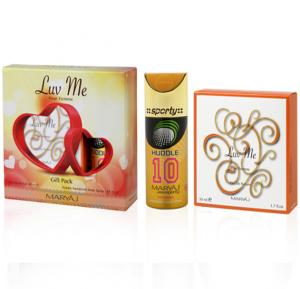 Maryaj Luv Me Gift Set For Women, EDP 50ml and Deo Spray 150ml