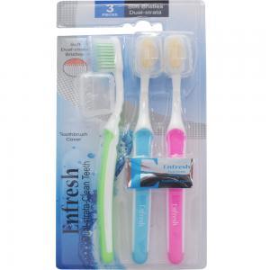 Enfresh Toothbrush + Covers 3 pc, EFS00EF971