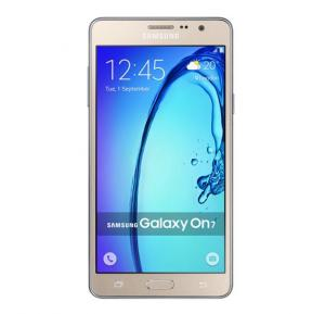 Samsung Galaxy On 7 Smartphone,4G LTE, 5.5 Inch Display, Android 5.1, 1.5GB RAM, 8GB Storage, Dual Camera - Gold
