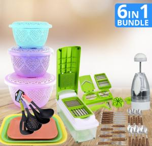 6 in 1 Bundle Offers of Kitchen Appliances