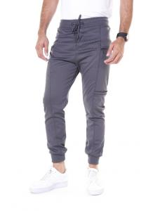 Kenyos Knit Track Pants For Men Light Gray BCCD62281A - M