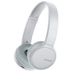 Sony Wireless Over-Ear Headphone with Voice Assistant and Easy Hands-Free Calling, Bluetooth, WH-CH510, White