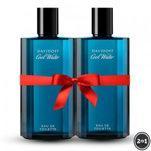 2 IN 1 Davidoff Cool Water Edt 125 ml Perfume For men