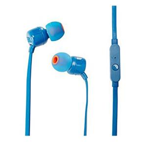 JBL In Ear Stereo Wired Headphone T110 A Blue