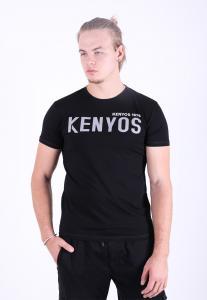 Kenyos Mens T shirt Black