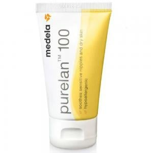 Medela Purelan 100% Natural Medical Grade Lanolin Nipple Cream, 37g