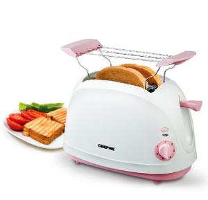 Geepas 2 Slice Bread Toaster GBT6110, With 7 Setting Browning Control