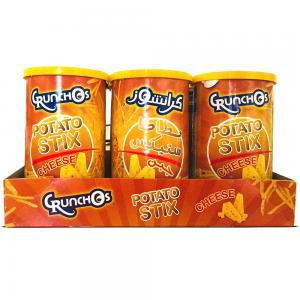 Crunchos Potato Chips Cheese 4x125gm At Special Price