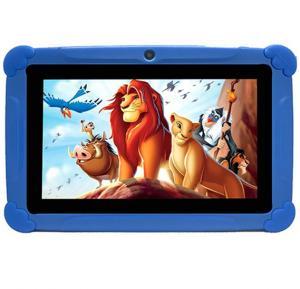 TPAD Kids Tablet T262 7-Inch, 8GB, Wi-Fi, Blue With Free School Kit