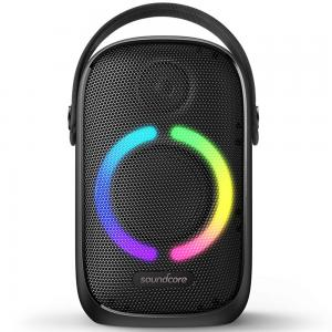 Anker SoundCore Rave Neo Portable Bluetooth Speaker, Black, A3395H11.BK